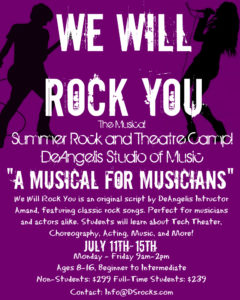 We will rock you poster